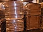 Cardboard Boxes Skidded