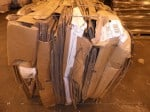 Cardboard - Bales-Skids